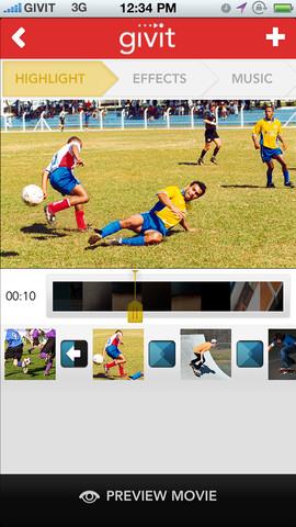 Givit App Screenshot