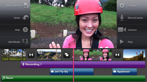 iMovie App Screenshot