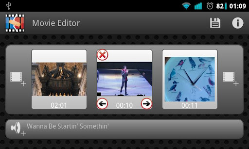 Video Editor App Screenshot