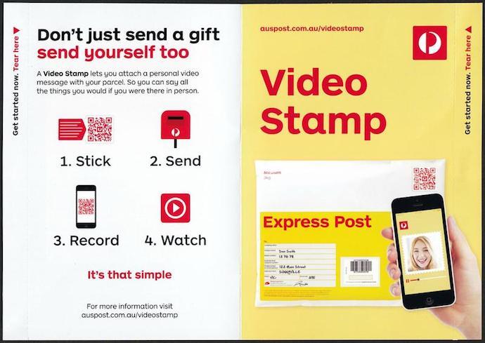 Australia Video Stamp