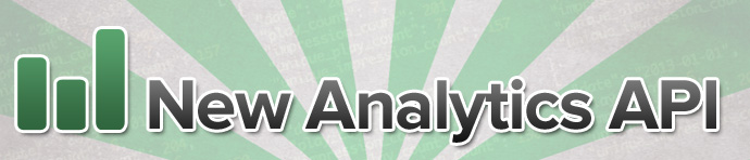 New Analytics API!