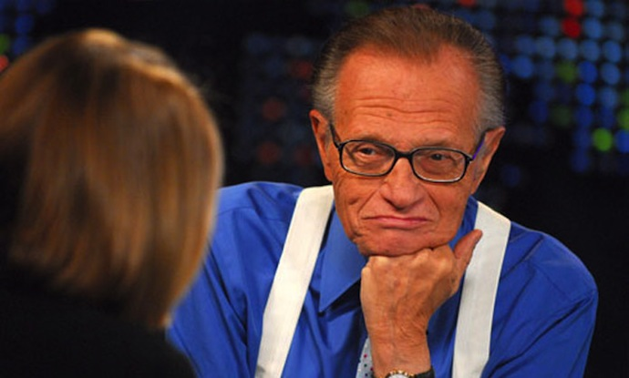 Larry King and video interview tips