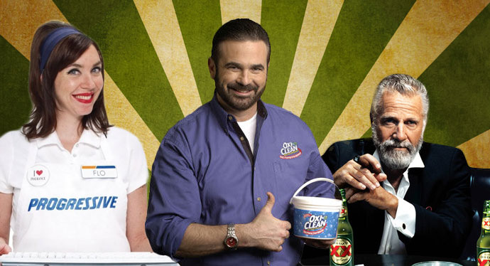 Flo, Billy Mays, The Most Interesting Man In The World