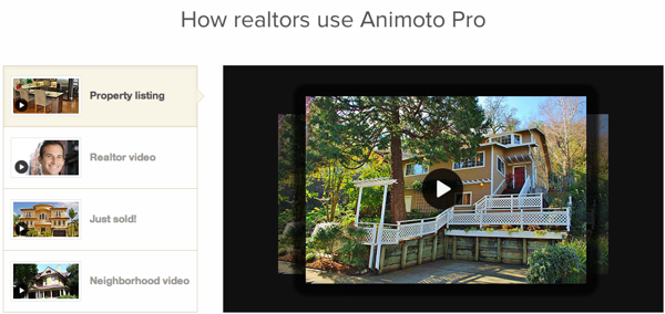 Animoto for Real Estate