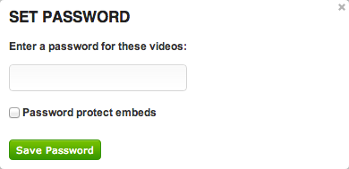 Make a video hosted on SproutVideo password protected
