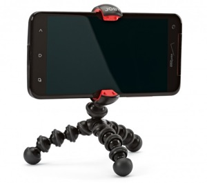 Small tripod for smartphone videos