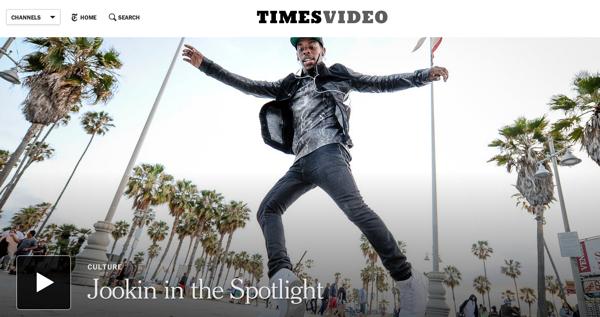 The Times Video Hub