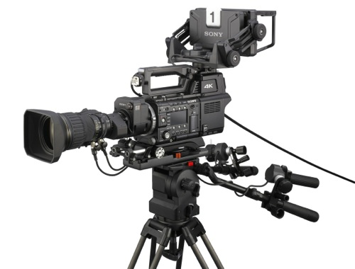 Sony 4k Camera used in the 2014 World Cup