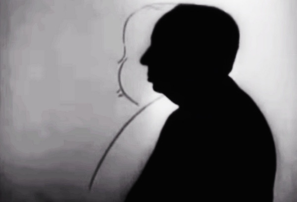 Alfred Hitchcock Silhouette