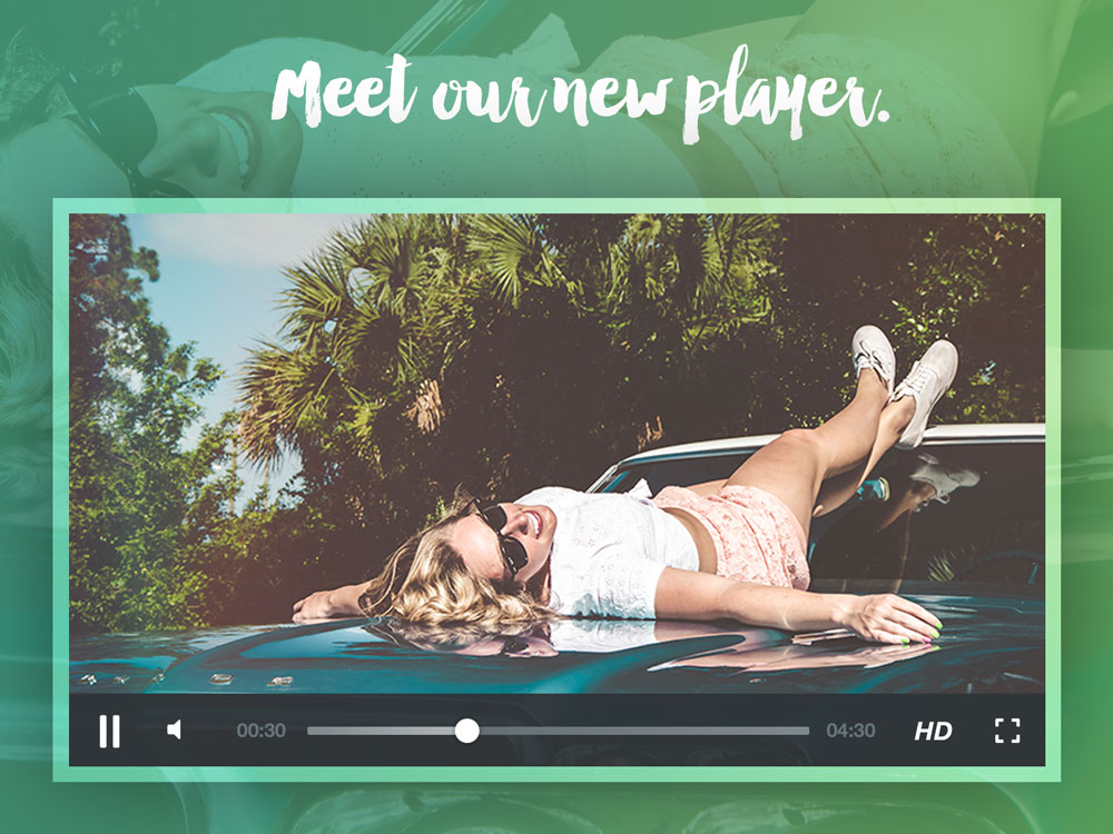 New SproutVideo Player