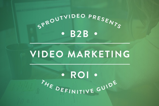 Definitive Guide to B2B Video Marketing ROI