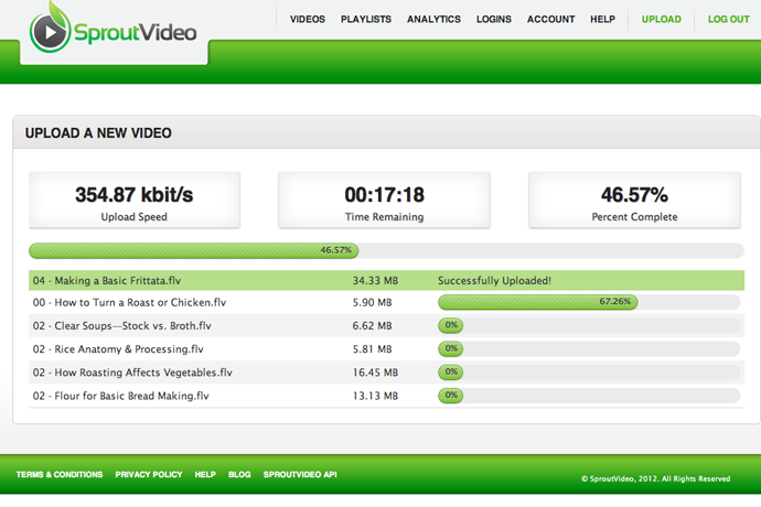 The New SproutVideo Uploader